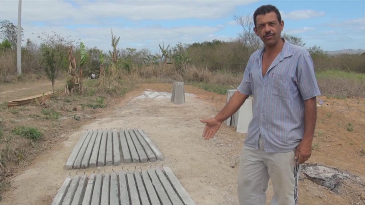 Oficina de constru o de cisterna de placas para for Cisternas de cemento