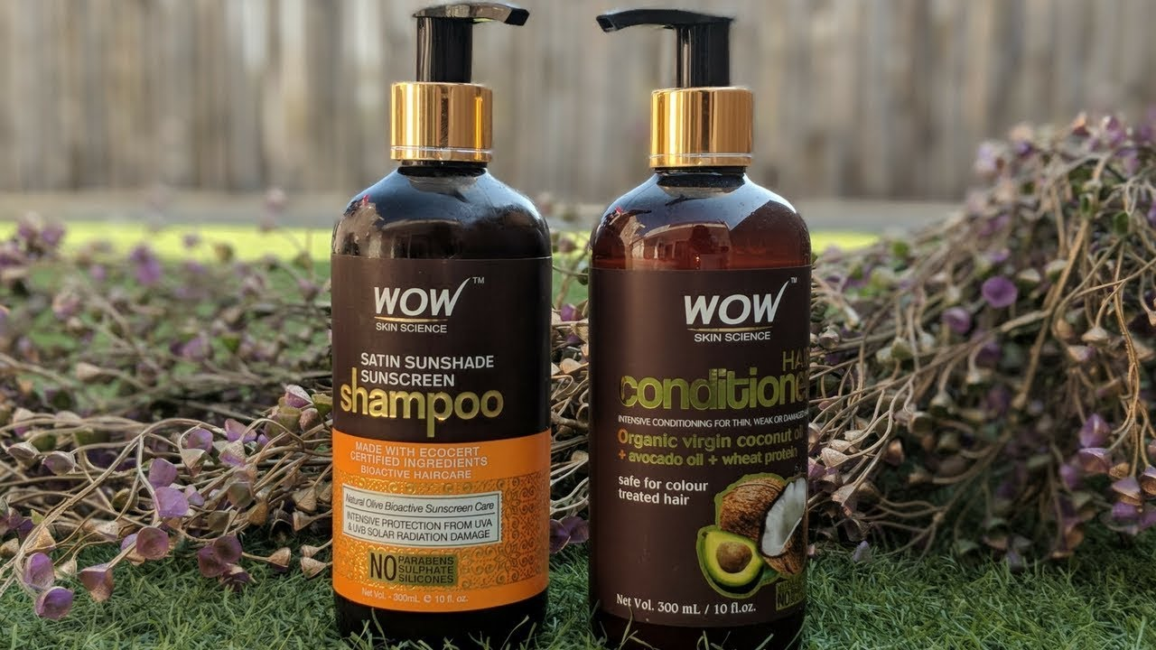 Iveta Sunshaded review on wow shampoo and conditioner
