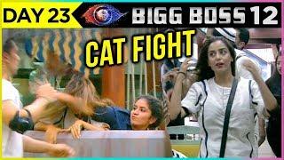 Surbhi HITS Srishti | Srishti Gets Hurt | Bigg Boss 12 Episode 23 Update
