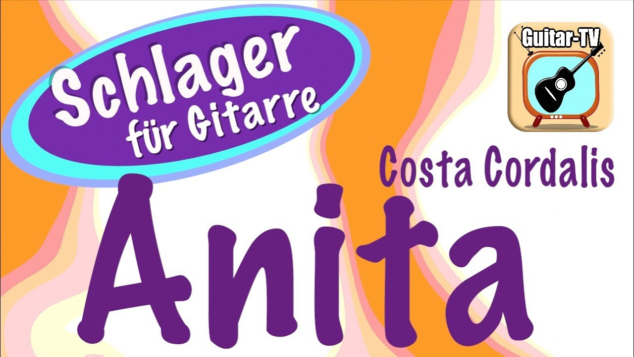 Costa Cordalis - Anita - YouTube