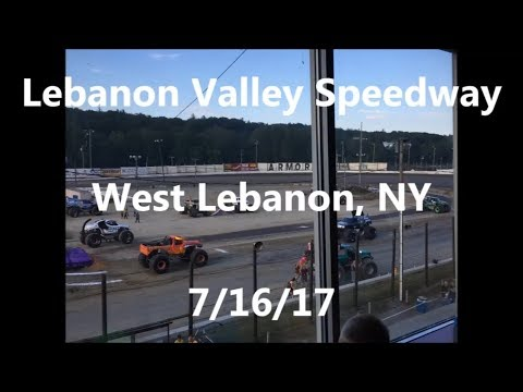 Monster Jam, 2017, West Lebanon NY, Lebanon Valley Speedway, 7/16/17 (Full Show)
