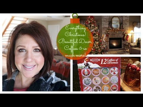 Karen's Vlog: Everything Christmas, Beautiful Decor, Coffees