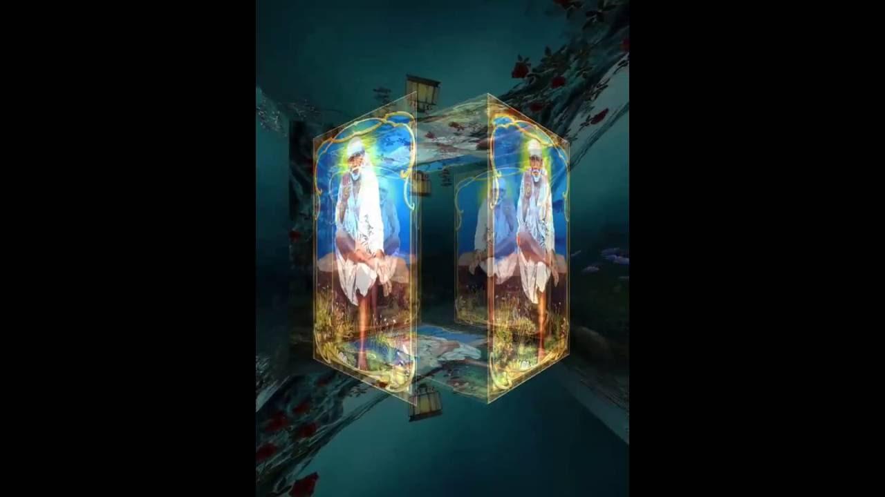 5D Sai Baba Live Wallpaper - YouTube