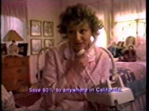 Pacific Telephone Commercial Ad 1982