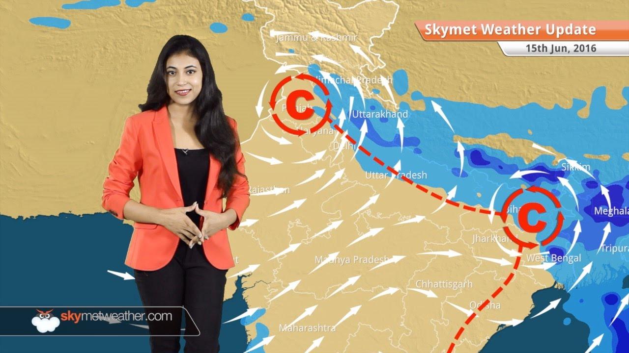 Weather Forecast for June 15: Monsoon rains in Karnataka & Goa