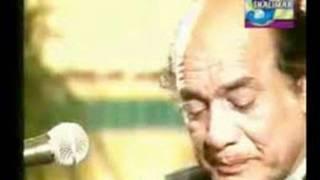 Mehdi Hassan Live....Ab Ke Hum (Ustad Salamat Ali Khan Mehfil)