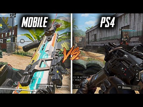 COD Mobile Vs Black Ops 1,2,3,4 (Graphics And Sound) | PC, PS4, Xbox Vs Mobile | Beta