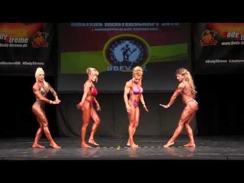 Masters Woman's Physique - Int. Deutsche Junioren & Masters 2016