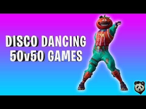 Fortnite | TOMATO HEAD - Disco Dancing | 50v50 Games | PC