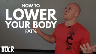 How to Lower Your Body Fat Percentage