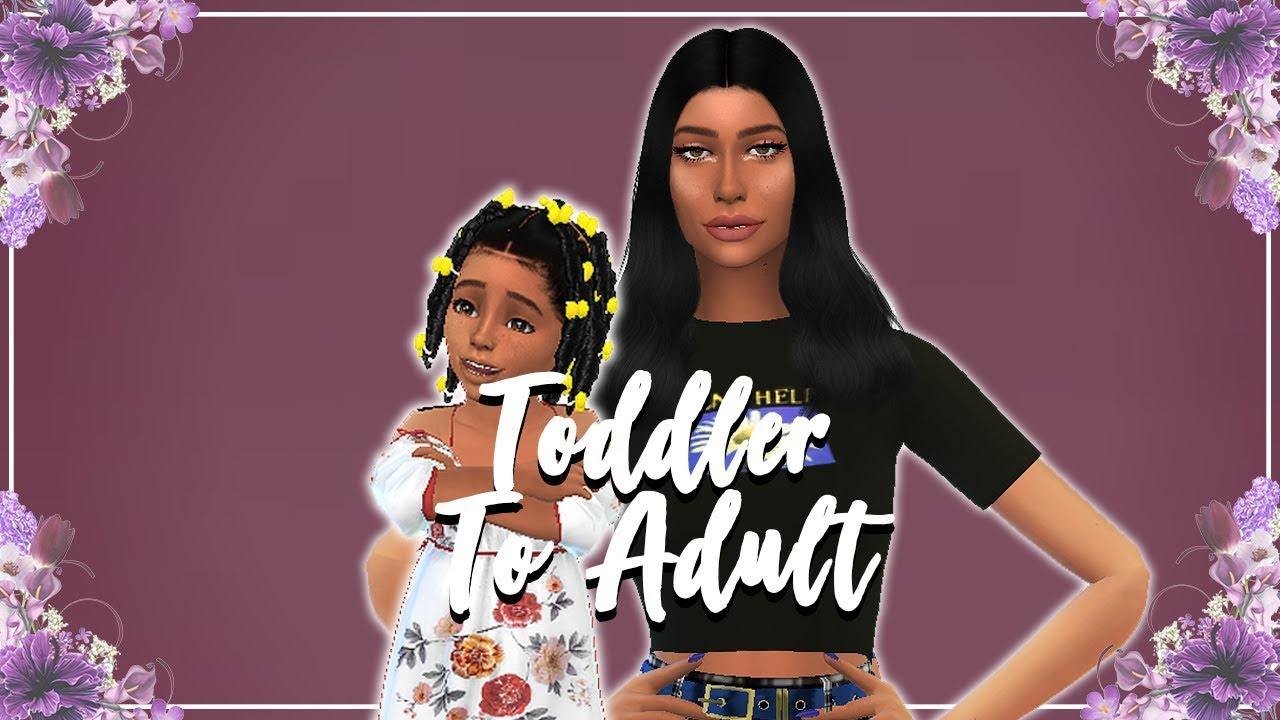The sims 4 toddler skin