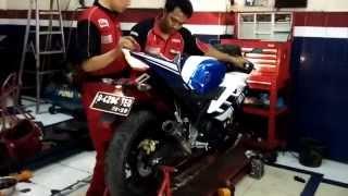 Knalpot Yamaha R15 Akrapovic Lorenzo