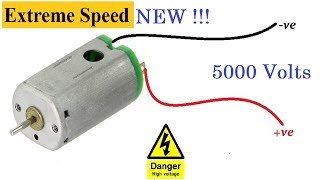 DC Motor Life Hacks || How to run Toy Motor VERY FAST !!! 😱😱😱