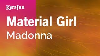 Karaoke Material Girl - Madonna *