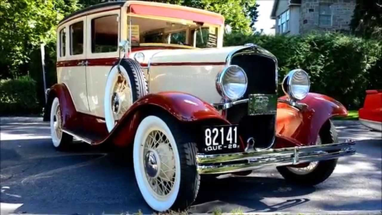 Jazzy 1929 desoto 4 door sedan youtube for 1929 dodge 4 door