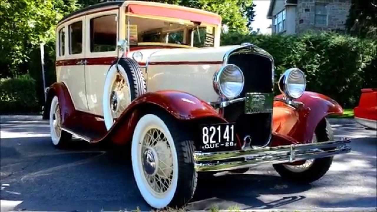 Jazzy 1929 desoto 4 door sedan youtube for 1929 dodge 4 door sedan