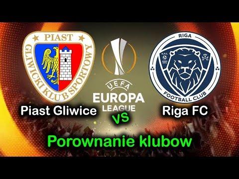 PIAST - RIGA F.C | PORÓWNANIE KLUBÓW | ELIMINACJE DO LIGI EUROPY