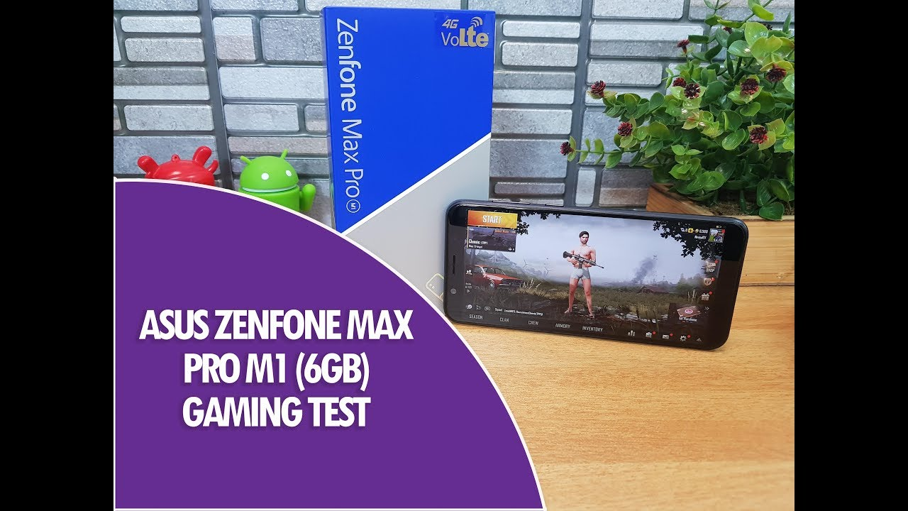 ASUS Zenfone Max Pro M1 (6GB) Gaming With PUBG And Heating