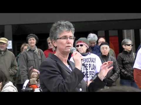 Peel Rally Elizabeth Hanson