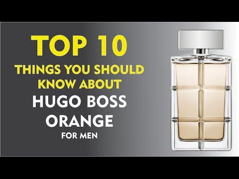 Top 10 Fragrance Facts: Boss Orange For Men