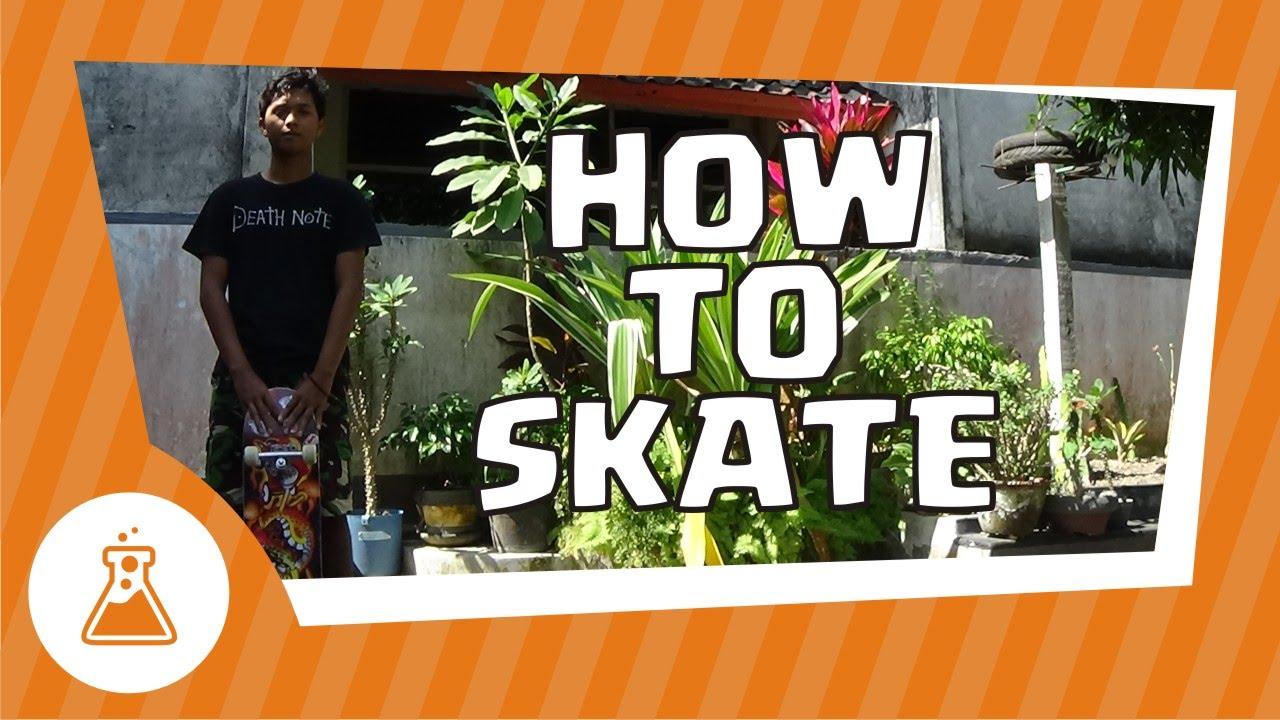 Cara Bermain Skateboard Untuk Pemula