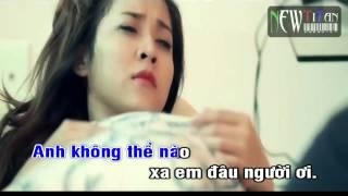 [Karaoke] Bất ngờ anh yêu em - Lâm Chấn Huy [Beat]