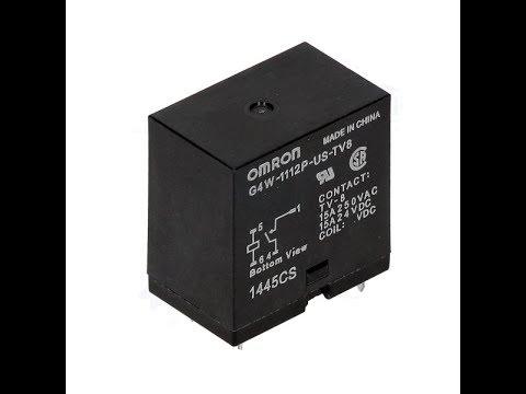 Bobina de relé 12V 10 Amp contactos 10A voltios energía PCB MNT