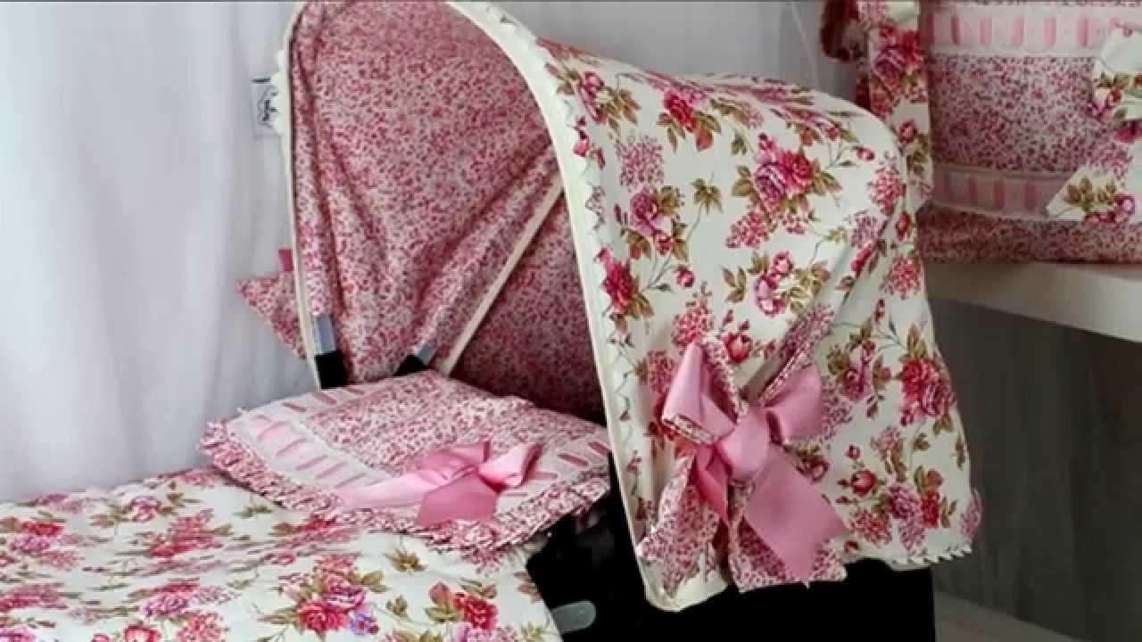 Saco Silla Grupo 0 Capotas Estampado Flores En Textilbebees  YouTube