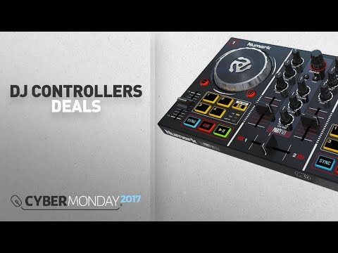 Top Cyber Monday DJ Controllers Deals: Numark Party Mix | Starter DJ Controller with Built-In Sound