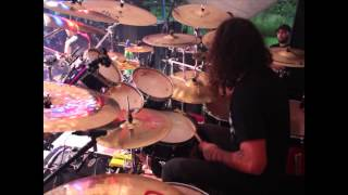 "Amilcar Christófaro (Torture Squad) - ""No Escape From Hell"" - Drum Cam"