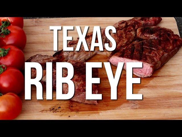 BBQ Recepten: Texas Rib Eye van de BBQ - Grilled Texas style Rib Eye
