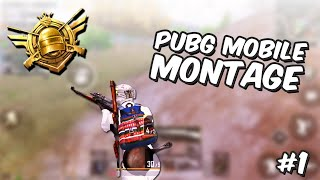 PUBG Mobile Montage 🇮🇩 | 4 Finger + Gyro + Ads | iPhone 8 Plus | Highlights #1