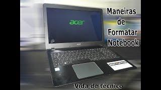 Como Formatar Notebook Acer