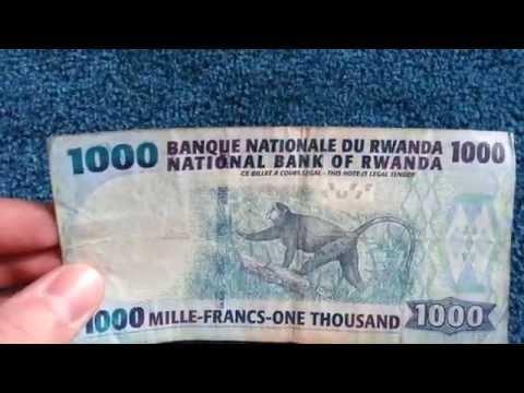 Currency special part 13: Ruanda/ Rwanda Franc