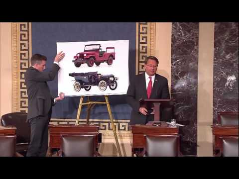 Peters Introduces National Historic Vehicle Registry Act