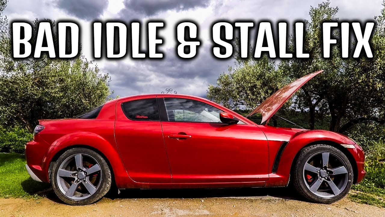 Rx8 Won't Idle/Stalls After Battery Disconnect FIX