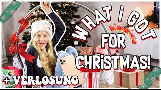 WHAT I GOT FOR CHRISTMAS ! MEINE WEIHNACHTSGESCHENKE 2019 | MaVie Noelle Family