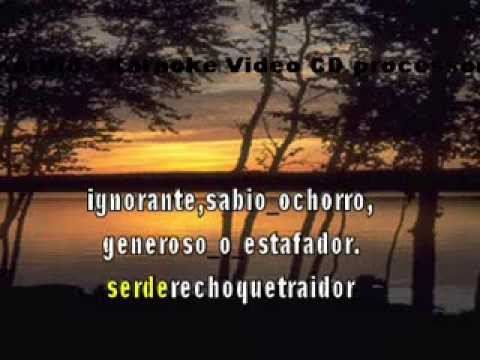 Karaoke video Tango   CAMBALACHE