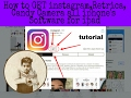How to get Instagram/Retrica,Snapchat,candy camera for ipad