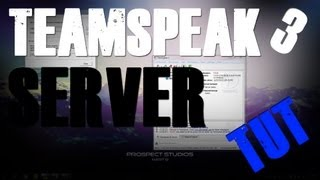 How to create a Teamspeak 3 SERVER [TUT](, 2012-12-27T18:48:43.000Z)