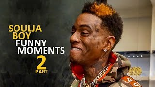 Soulja Boy FUNNY MOMENTS Part 2 (BEST COMPILATION)