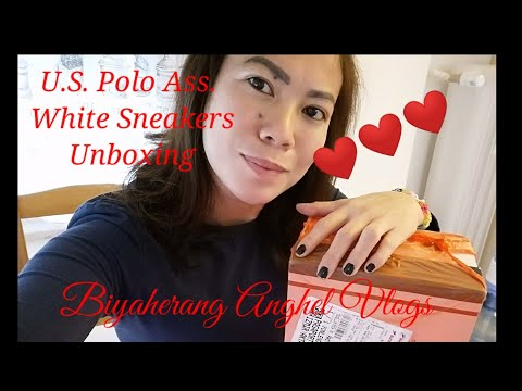 U.S. Polo Assn. White Sneakers Unboxing