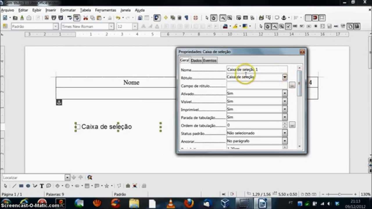 Criar formulário em PDF editável - YouTube