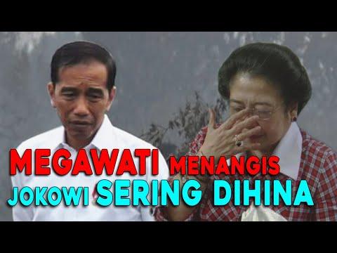 KASIAN!! Presiden Jokowi Sering Dihina, Megawati Menangis