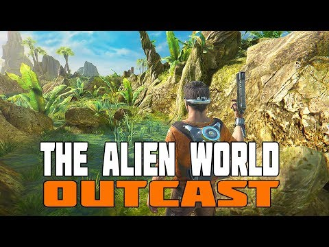 Outcast Second Contact - Sci-Fi Adventure on a Weird World
