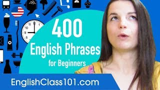 400 Everyday Life English Phrases for Beginners