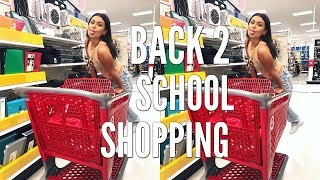 BACK TO SCHOOL SHOPPING | SUPPLIES & APARTMENT SHOPPING