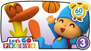 🚗 POCOYO in ENGLISH - Wheels [ Let's Go Pocoyo ]   VIDEOS and CARTOONS for KIDS