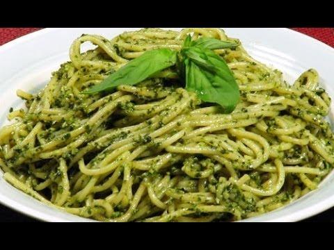 Cocinar espagueti navide o en crema de espinaca rico - Como hacer espaguetis al pesto ...