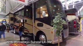 2016 Winnebago Sunstar LX 35F